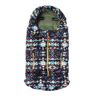 フィセル(FICELLE)の新品 ボボ BOBO フットマフ ネイビー ベビーカーカバー ベビーカー 毛布 (ベビーカー用アクセサリー)