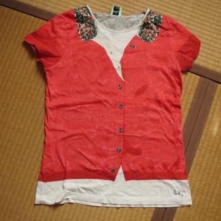 ポールスミス(Paul Smith)の美品 Paul Smith だまし絵Tシャツ XL(実際M位)(その他)