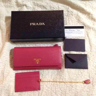 プラダ(PRADA)のプラダ 紗栄子さん使用人気カラー‼︎(財布)