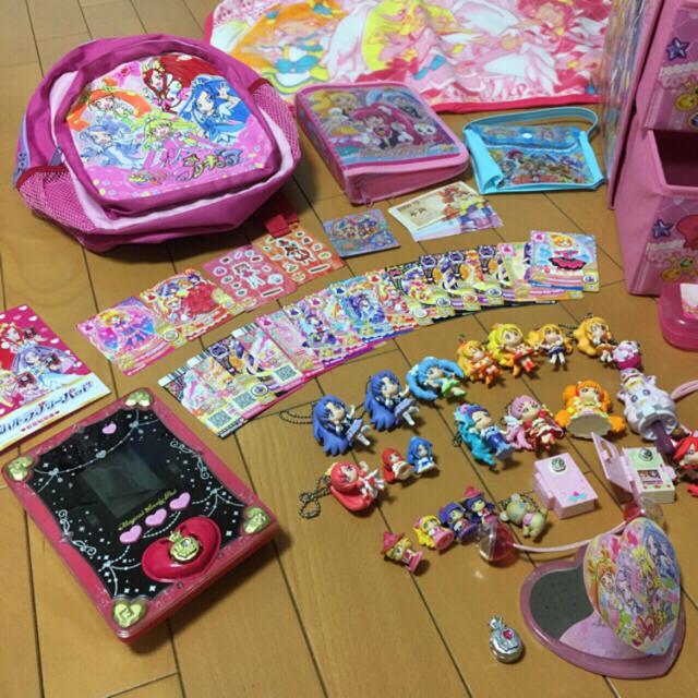 BANDAI(バンダイ)の☆masa1943様専用☆ プリキュア まとめ売り フィギュア リュック キッズ/ベビー/マタニティのおもちゃ(知育玩具)の商品写真