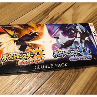 ニンテンドー3DS(ニンテンドー3DS)の新品 ポケットモンスター ダブルパック(家庭用ゲームソフト)
