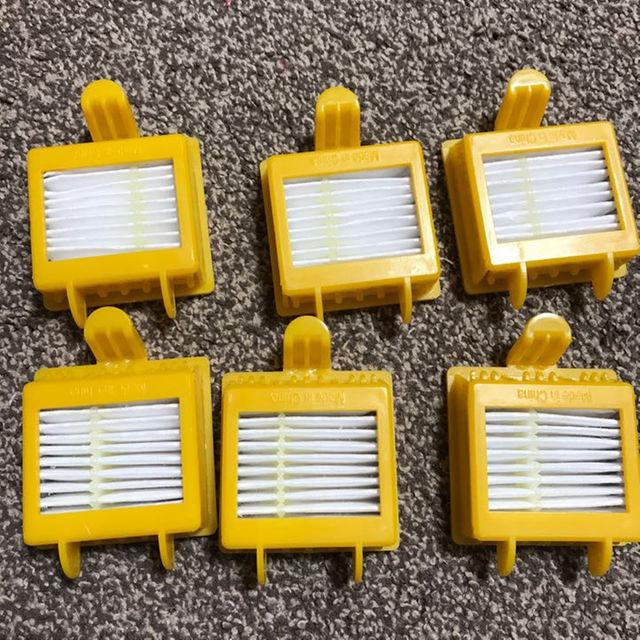 iRobot(アイロボット)の新品 ルンバ フィルター 6個 スマホ/家電/カメラの生活家電(掃除機)の商品写真