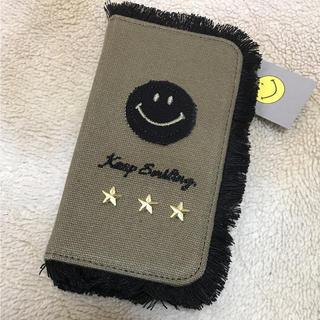 シマムラ(しまむら)の新品未使用✴︎iPhone手帳型ケース♡(iPhoneケース)
