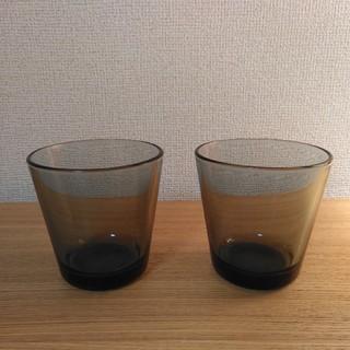 イッタラ(iittala)の週末値下げ イッタラ カルティオ グレー ペア グラス(グラス/カップ)