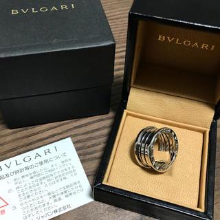 ブルガリ(BVLGARI)のブルガリ ビーゼロワン リング 750WG 18号/#58(リング(指輪))