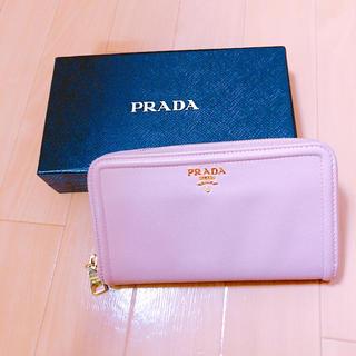 プラダ(PRADA)のPRADA フレーム 長財布 ORCHIDEA(財布)