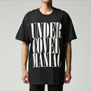 アンダーカバー(UNDERCOVER)の新品 UNDER COVER MANIAC Tシャツ ブラックM(その他)