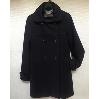 セッスン(SESSUN)のSESSUN コート 紺色 サイズS(ロングコート)