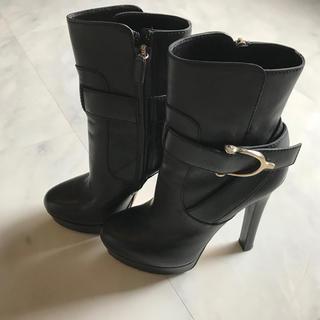 グッチ(Gucci)のGUCCI ショートブーツ ブラック ブーティ(ブーツ)