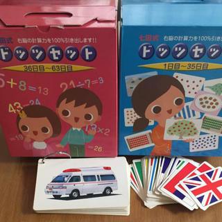 七田 ドッツカード セット(知育玩具)