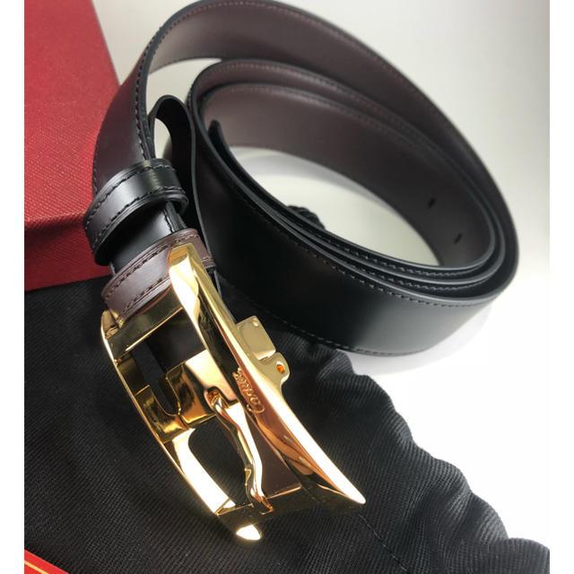 Cartier(カルティエ)の新品❣️カルティエ リバーシブルベルト メンズのファッション小物(ベルト)の商品写真