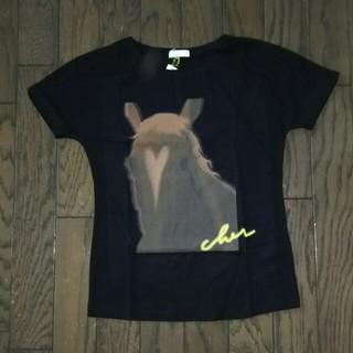 シェル(Cher)のCher 馬柄Tシャツ 新品未使用(Tシャツ(半袖/袖なし))