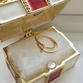 ヨンドシー(4℃)の最終お値下げ♡4℃✴︎2連ダイヤモンドリング(リング(指輪))