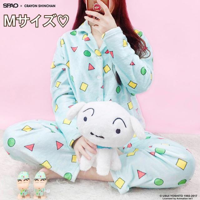 韓国 SPAO☆公式 クレヨンしんちゃん パジャマ Mサイズ