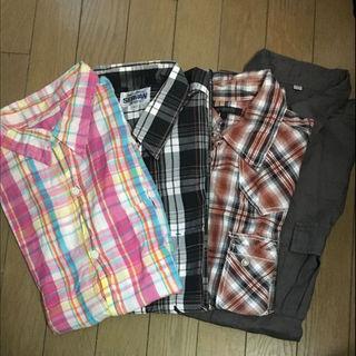 ユニクロ(UNIQLO)の半袖シャツ Lサイズ おまとめ売り(シャツ)