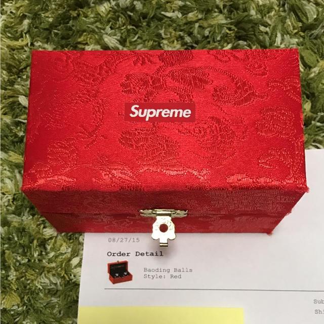 uk availability d9aa4 a0f3e Supreme(シュプリーム)のsupreme Baoding Balls ボール ss aw boxlogo メンズのファッション小物