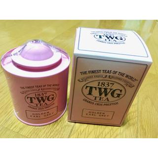 未開封★TWG 紅茶★GOLDEN EARL GRAY(茶)