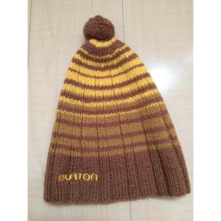バートン(BURTON)のニット帽子(ニット帽/ビーニー)