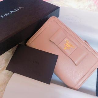 プラダ(PRADA)のまりこ様 PRADA  今期新作 二つ折財布(財布)