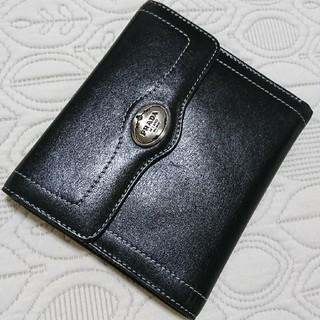 プラダ(PRADA)のPRADA レザー折り財布(財布)