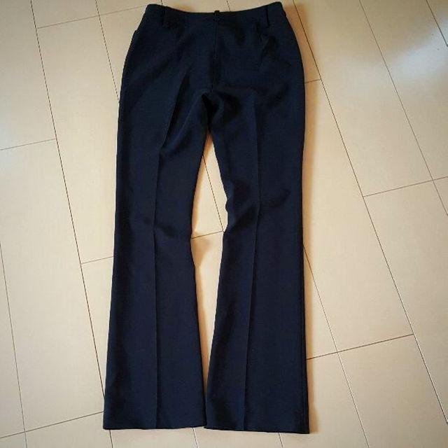 PROPORTION BODY DRESSING(プロポーションボディドレッシング)のプロポーションボディドレッシング 黒 スラックス ズボン レディースのパンツ(その他)の商品写真