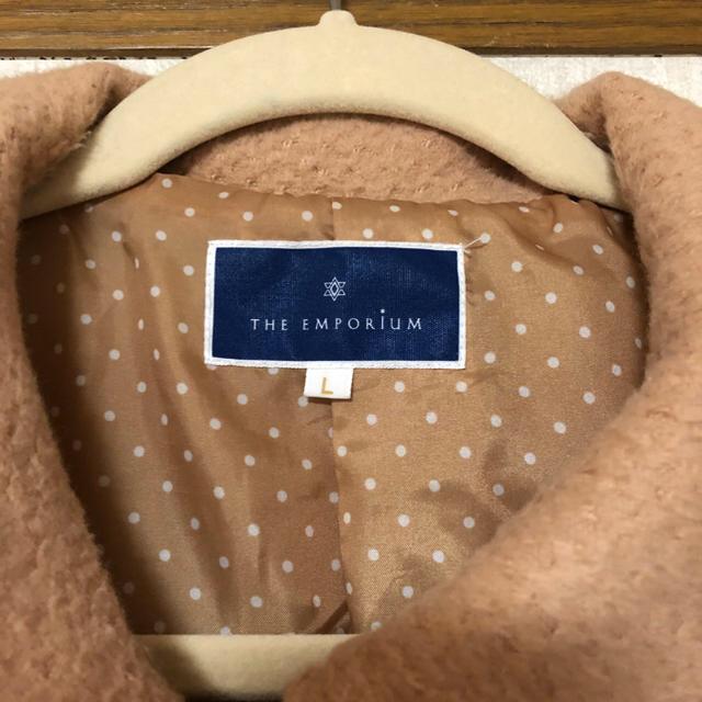 THE EMPORIUM(ジエンポリアム)のThe emporium ロングコート レディースのジャケット/アウター(ロングコート)の商品写真