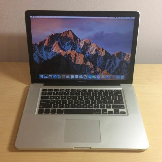 Mac (Apple)(マック)のMacBookPro 15インチ i7 スマホ/家電/カメラのPC/タブレット(ノートPC)の商品写真