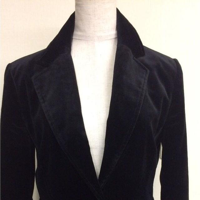 GAP(ギャップ)のGAP ギャップ ジャケット 黒 サイズ4 レディースのジャケット/アウター(テーラードジャケット)の商品写真