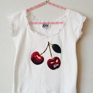 ケイティー(Katie)のKatie cherry トップス(Tシャツ(半袖/袖なし))