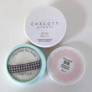 チャコット(CHACOTT)のフェイスパウダー 3点セット CHACOTT ettusais など(フェイスパウダー)