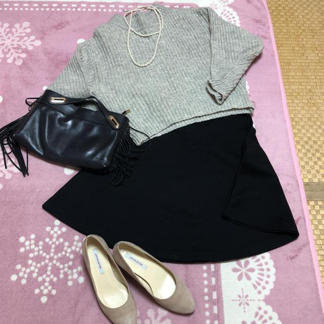Spick and Span(スピックアンドスパン)のスピック&スパン スカート 黒 レディースのスカート(ひざ丈スカート)の商品写真