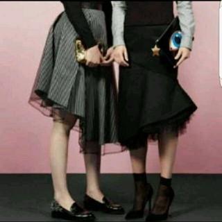 ルシェルブルー(LE CIEL BLEU)のモトコ様専用♡ルシェルブルー チュール スカート(ひざ丈スカート)