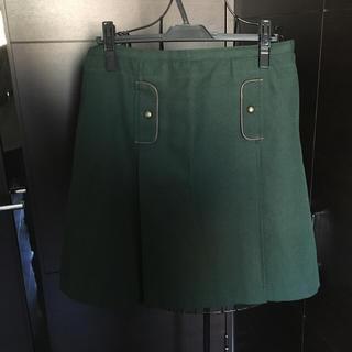 ニッセン(ニッセン)のくみゅ様専用★モスグリーン 秋冬用スカート(ひざ丈スカート)