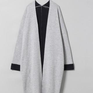 ジーナシス(JEANASIS)の JEANASIS  薄手ロングコート グレー色(ロングコート)