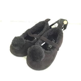 フタフタ(futafuta)の【 15cm 】 フタフタ ブラッククローゼット ボンボン 黒 靴 シューズ(フォーマルシューズ)