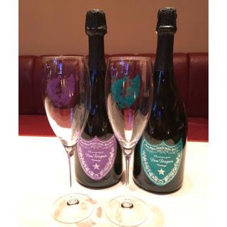 ドンペリニヨン(Dom Pérignon)のドンペリ*アンディウォホル グラス2個&ダミーボトル2本!(グラス/カップ)