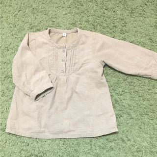ムジルシリョウヒン(MUJI (無印良品))の無印 チュニック トップス 90(Tシャツ/カットソー)