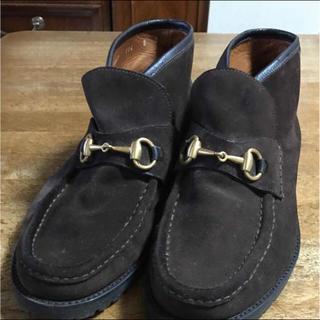 グッチ(Gucci)のGUCCIメンズショートブーツ(ブーツ)