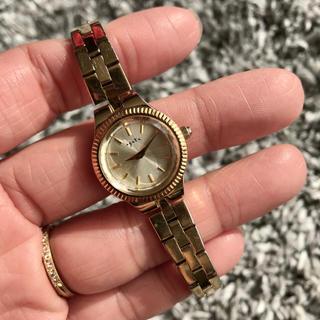 アガット(agete)のagete 腕時計 ブレスレットジュエリーウォッチ 18YG(腕時計)