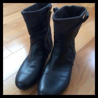 ムジルシリョウヒン(MUJI (無印良品))の無印良品☆ショートブーツS☆送料込(ブーツ)