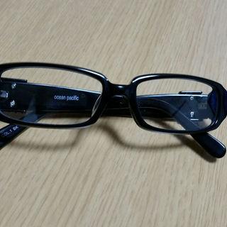 オーシャンパシフィック(OCEAN PACIFIC)のocean pacific メガネ レンズ付き度なし(サングラス/メガネ)