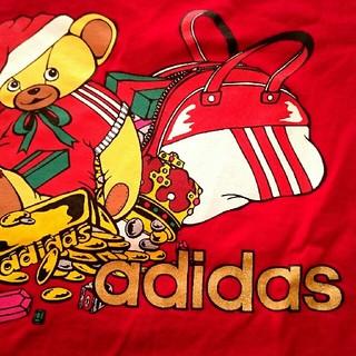 アディダス(adidas)のadidas バックプリントTシャツ(Tシャツ(長袖/七分))
