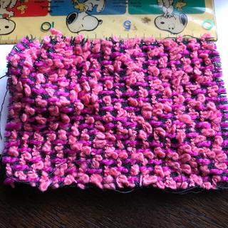 シャネル(CHANEL)のシャネルツイードピンク色のハギレ(生地/糸)