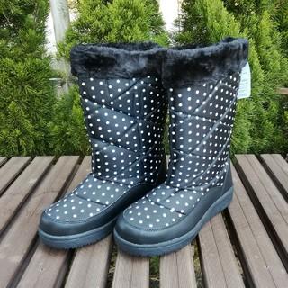 size:LL レディース防寒ブーツ[ブラック]17688(ブーツ)