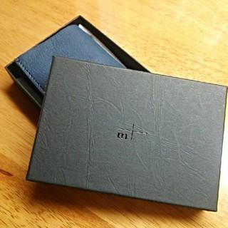 エムピウ(m+)のエムピウ ミニ財布 ストラッチョ (折り財布)