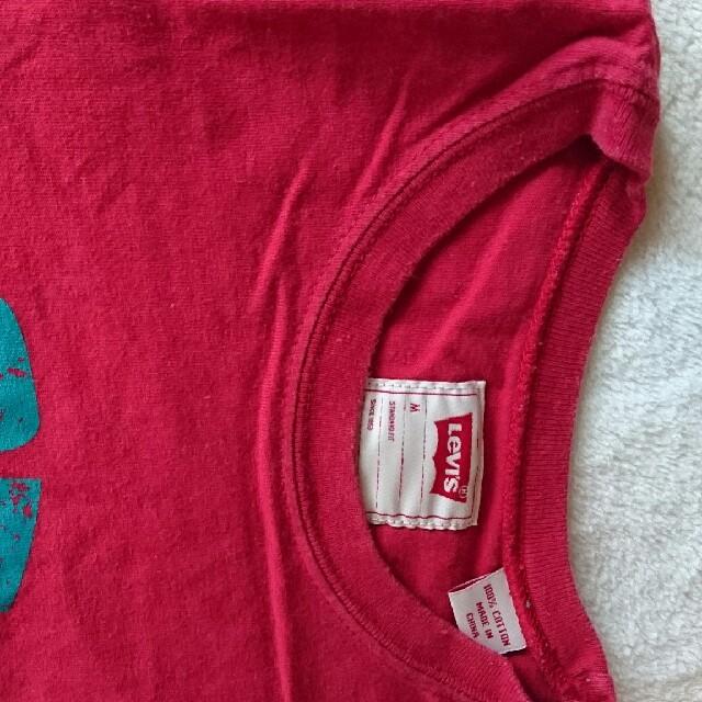Levi's赤Tシャツ メンズのトップス(Tシャツ/カットソー(半袖/袖なし))の商品写真