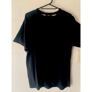 バーバリー(BURBERRY)のバーバリー 黒 Tシャツ(Tシャツ/カットソー(半袖/袖なし))