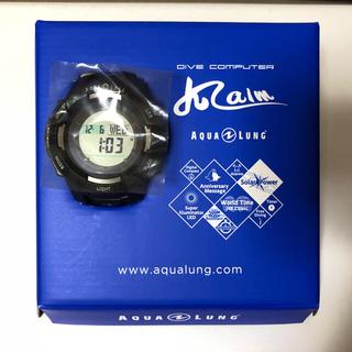 アクアラング(Aqua Lung)の2017年最新モデル アクアラング カルム ソーラー・ダイブコンピューターBL(マリン/スイミング)