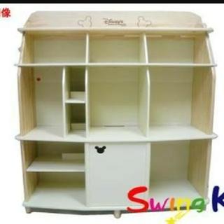 ディズニー(Disney)の痩せたいさん専用 DWE棚 本棚 玩具棚 ディズニー(棚/ラック/タンス)
