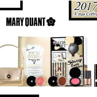 マリークワント(MARY QUANT)のマリークワント 新品 クリスマスコフレ(コフレ/メイクアップセット)